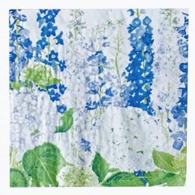 Delphiniums Paper Dinner Napkins