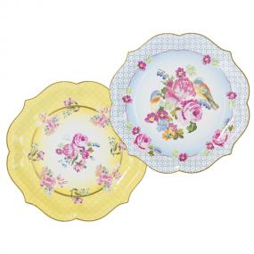 Truly Scrumptious Paper Serving Plates x 4