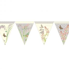 Edwardian Lady Lilac Paper Bunting