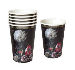 Party Porcelain Baroque Style Paper Cups
