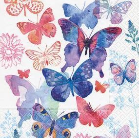 Butterfly Symphony Luncheon Napkins