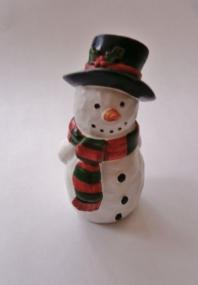 Snowman Christmas Cake Decoration
