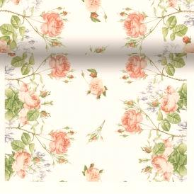 Rose Garden Scroll Paper Table Runner