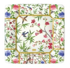 Chinese Design Paper Side Plates by Caspari