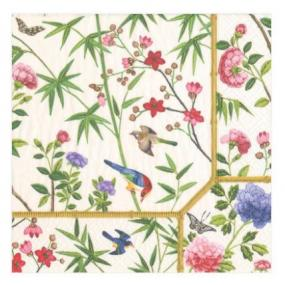 Chinese Design Luncheon Paper Napkins by Caspari