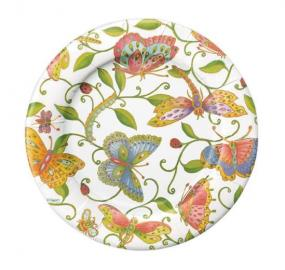 Butterfly Paper Side Plates by Caspari