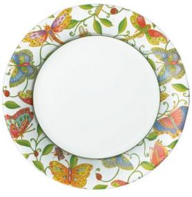 Butterfly Paper Dinner Plates by Caspari