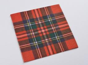 Royal Stewart Tartan Lunch Napkins