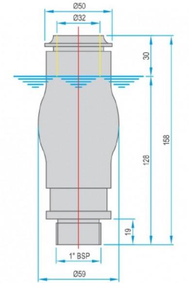 FT3402SS 1.0 Foam Jet