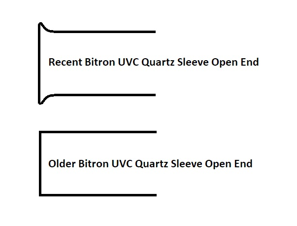 Bitron Quartz Sleeve Ends