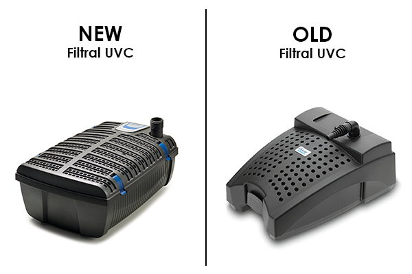 Old vs New Filtral UVC
