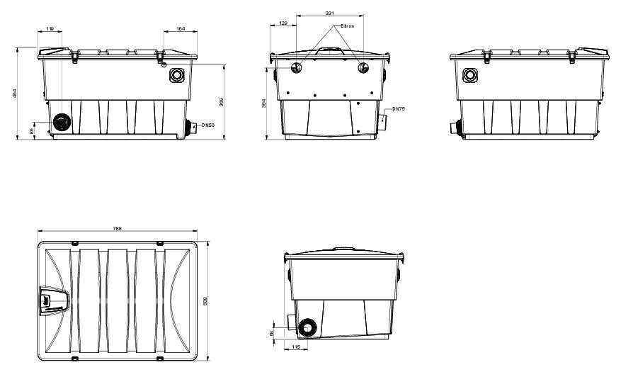 ScreenMatic 40000 Dimensions
