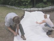 fitting protective underlay