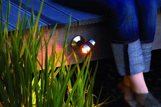 Lunaqua Maxi Spotlight in operation