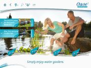 Oase App Homepage