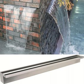 900mm Stainless Steel Water Blades