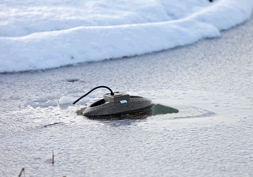 Pond Heaters and Ice Preventers