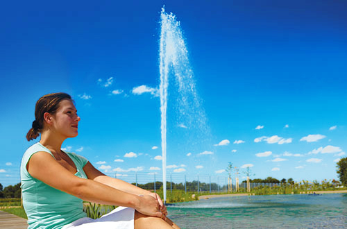 Lake Fountains & Pumps
