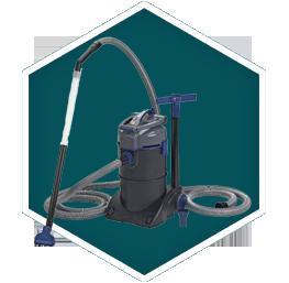 Pond Nets & Vacuum