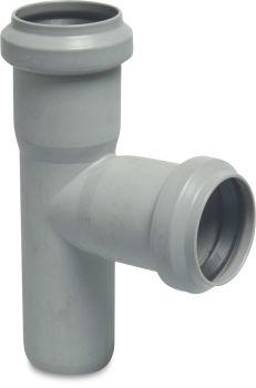 Discharge Tee-Piece - 75mm (Grey)