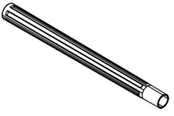 Spare PondoVac Suction Pipe - Black