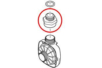 """Reducing Adaptor 1 1/2"""" BSPF - 1 1/4"""" BSPM"""