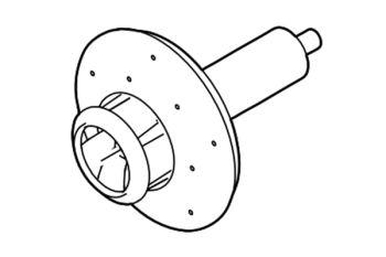 Impeller for Aquarius Eco Expert 36/44000