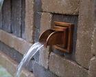 Square Copper Water Spout