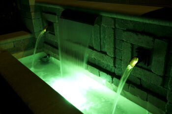 Rhombus Copper Water Spout