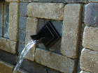 Rhombus Bronze Water Spout