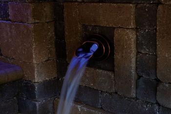 Ellipse Bronze Water Spout