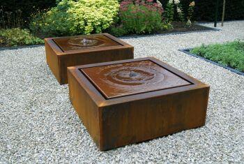 CorTen Steel Water Tables