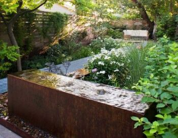 CorTen Steel Water Blocks