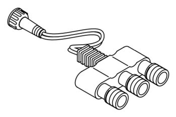 3-Way Cable Splitter - Excl. End Caps
