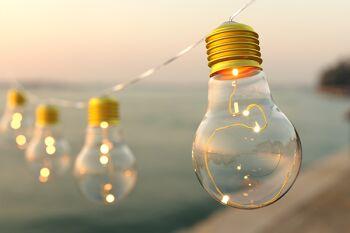 Vintage Bulb String Lights - 20 Bulbs