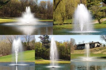 1HP Floating Aerator Fountain
