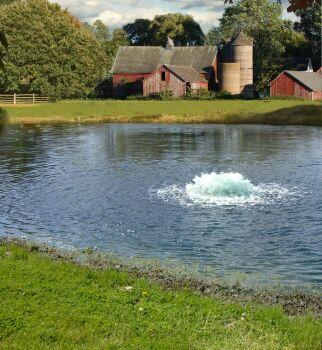 1 HP Floating Lake Aerator
