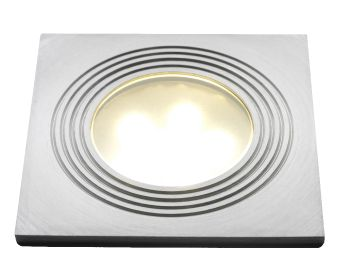 Doba Square LED Deck Light 75mm - 1w