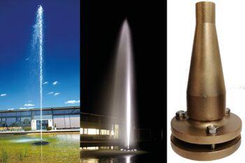 High Jet Fountain Nozzle - 19mm Bore