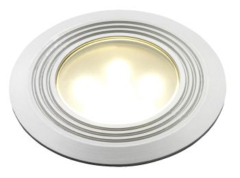 Doba Round LED Deck Light 75mm - 1w