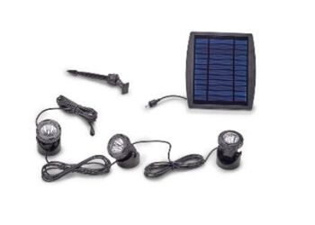 Solar LED Pond Lights – Set of 3