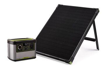 YETI 200X + Boulder 50 Solar Generator Set