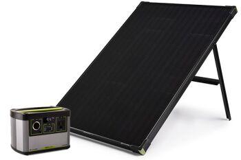 YETI 200X + Boulder 100 Solar Generator Set