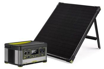 YETI 500X + Boulder 50 Solar Generator Set