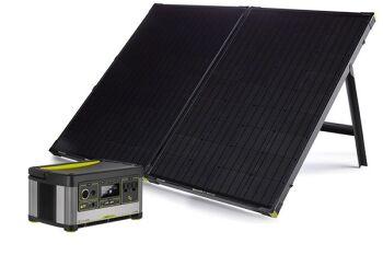 YETI 500X + Boulder 200 Solar Generator Set