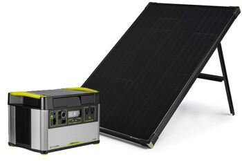 YETI 1500X + Boulder 100 Solar Generator Set