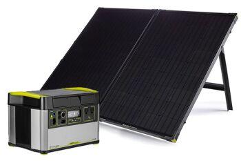 YETI 1500X + Boulder 200 Solar Generator Set