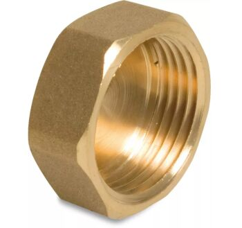 "3/4"" BSPF Brass End Cap"