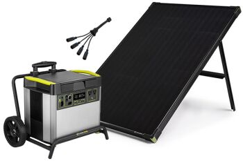 YETI 3000X + Boulder 100 Solar Generator Set