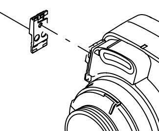 Locking Clip - Bitron 18/24/36/55w UVC